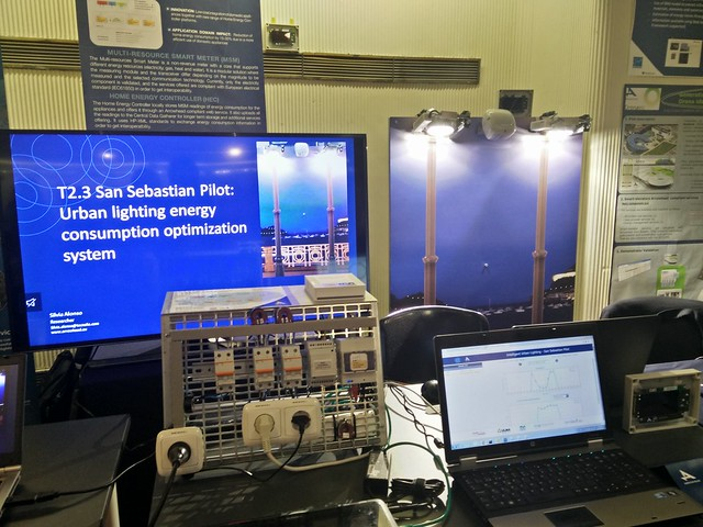 T2.3 San Sebastian Pilot: Urban lighting energy consumption optimization system