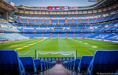 The Santiago Bernabeu Stadium, Madrid