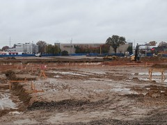 Early December 2016 view, of the Sears Laurelwood mud pit!