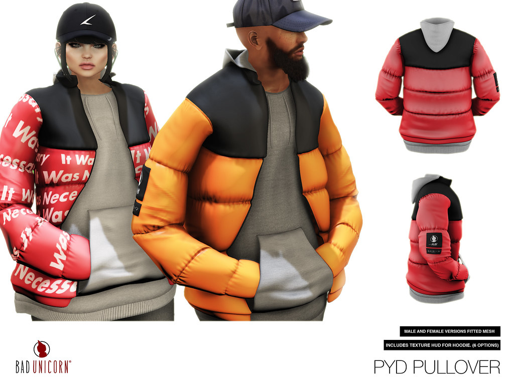 NEW! PYD Pullover @ TMD - SecondLifeHub.com