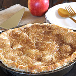 Rustic Apple Blackberry Pie