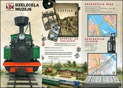 Museum Latvija Riga Vlak Latvijas dzelzceļa vēstures muzejs