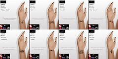 Stellar Inner Wrist Tattoos