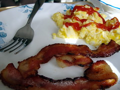 Eggs And Bacon.