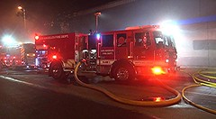 LAFD Extinguishes Fire in North Hollywood Goodwill Store
