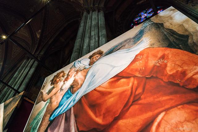 Michelangelos Sixtinische Kapelle (Photos von Erich Lessing)