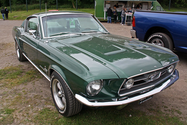 1967 Ford Mustang Fastback (Green) #1 | Flickr - Photo ...
