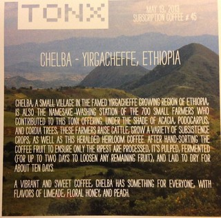 Chelba - Tonx Coffee