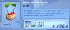 Eco Modern Food Counter