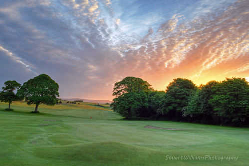 green sunrise golf fairway douglas hdr isleofman carnanesunrise