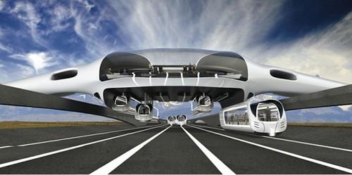 Horizon System – гибрид поезда и самолета на электротяге