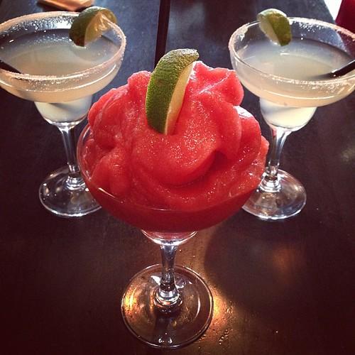 Vi dricker tydligen Margaritas mitt på eftermiddagen. Sa någon sommar?