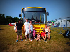 Standing by the Lemon Bus