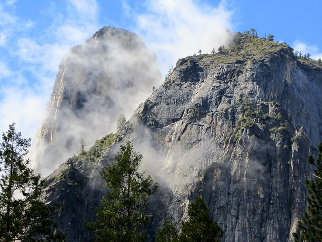 Cathedral Spires Yosemite