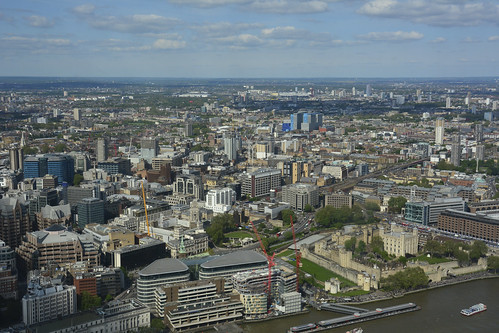 The Shard, The View From The Viewing Platform