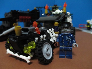 LEGO Monsters hotrod