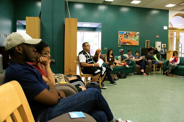 Mikva Health Council #CivicSummer Session at YOUMedia, Harold Washington Library Center