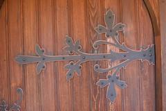 Door of Reformed Church