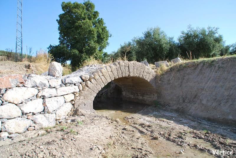 Puente sobre el Arroyo Fontalba