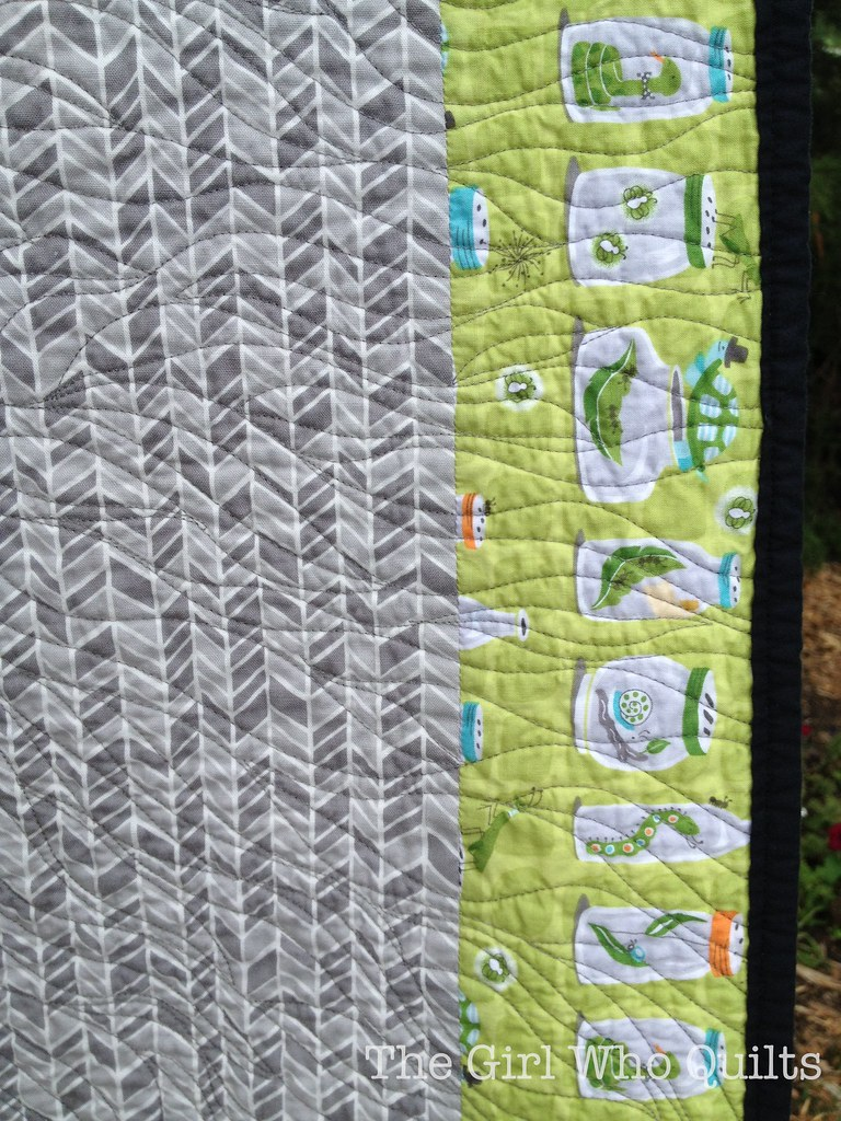 Triforce Quilt - Back