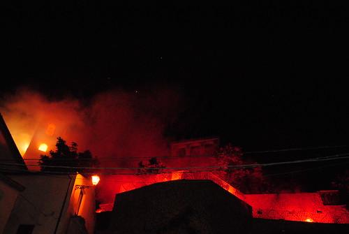 Maratea - Assalto al campanile di Trecchina 3