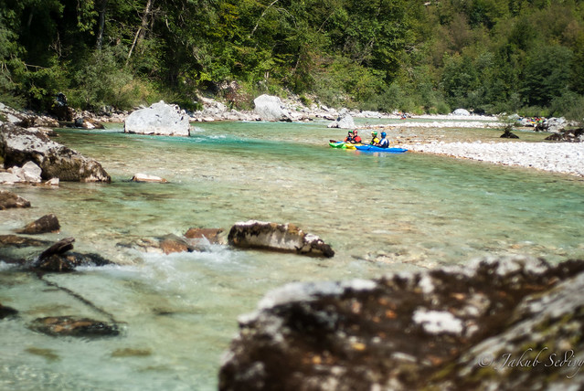 perfect surrounds on the Soča River