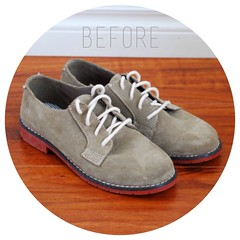 DIY Painted Oxfords
