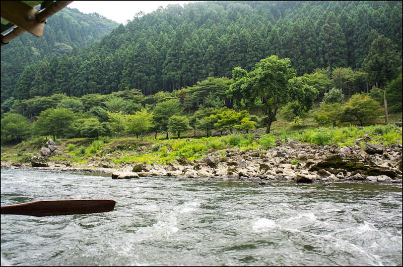crucero por el río hozugawa