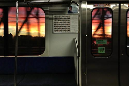 sunset sky iphone