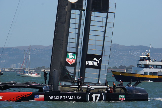 ORACLE Team USA AC72