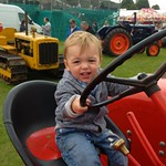 George on another tractor
