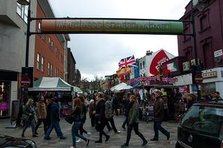Inverness Street Market à Camden Town