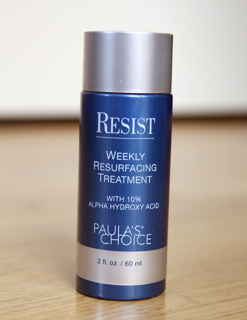 Paula's choice resist weekly resurfacing treatment with 10% aplha hydroxy acid