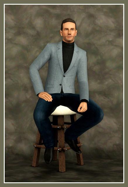 Jim Caviezel - Posed