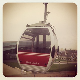 Day 3: Transport - Emirates Air Line