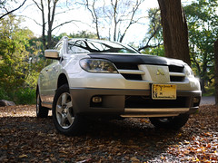 keithmobile-d on leaf-covered gravel