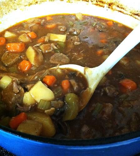 Beef and Cremini Mushroom Stew
