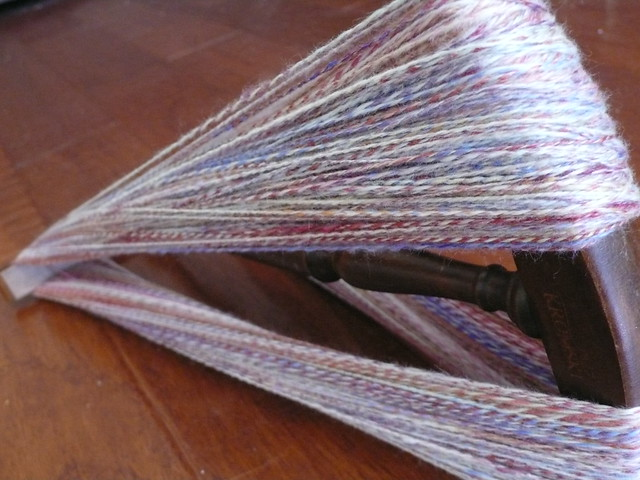 handspun on the niddy noddy