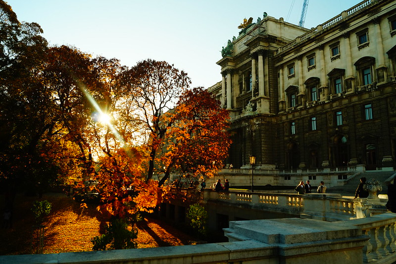 Autumn at Hofburg