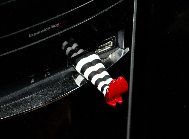 wicked witch in the USB port
