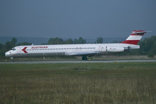 OE-LME MD80 Austrian Airlines