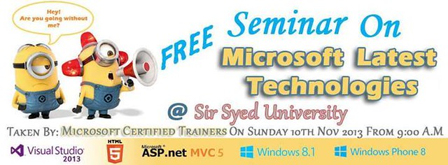 Free- Seminar on Microsoft Latest Technologies