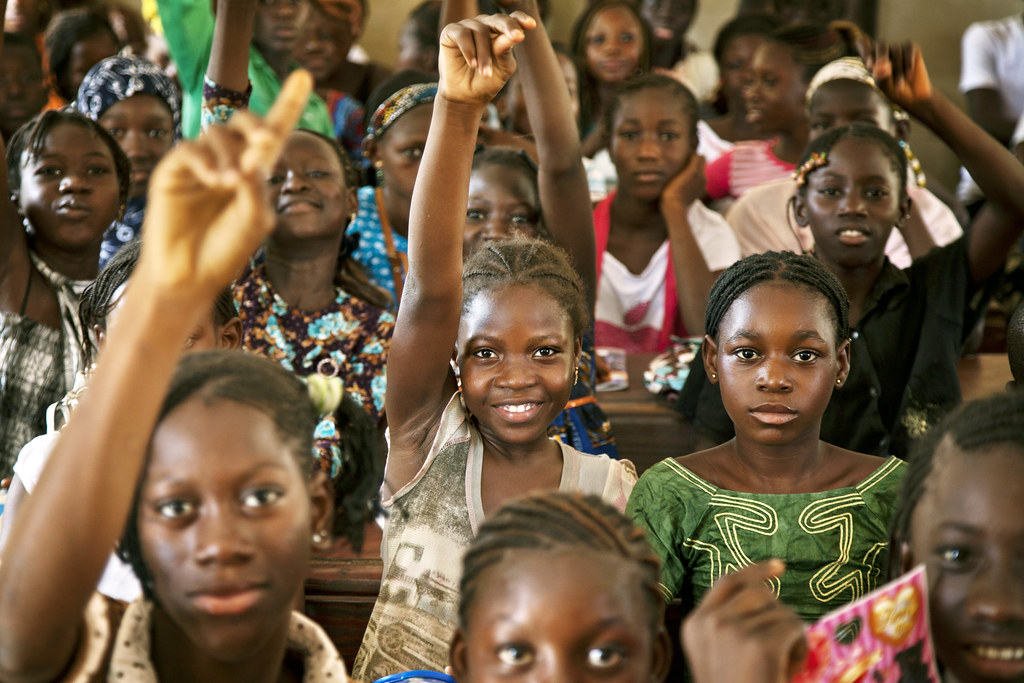 Students at Public School in Taliko Neighbourhood, Bamako