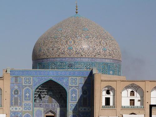 Mezquita del Jeque Lotfallah (Isfahán, Irán)