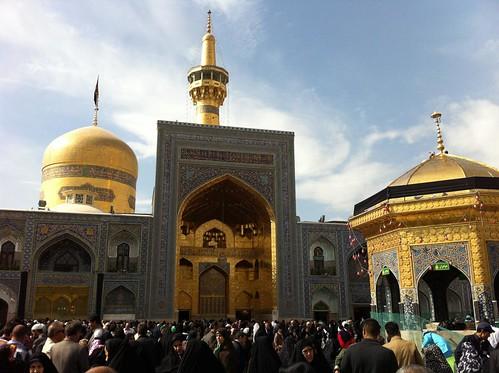 Mausoleo de Imán Reza en Mahan (Irán)
