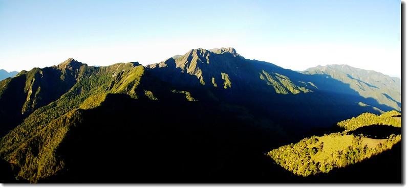 雪山聖稜線(From大霸尖山頂南眺) 7