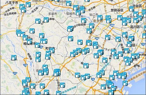 東京西部神奈川東部