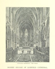 """British Library digitised image from page 35 of """"[Lichfield Cathedral.] Ward and Lock's Illustrated Historical Handbook to Lichfield Cathedral, etc"""""""