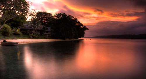 longexposure sunset seascape landscape 100v10f nd hdr vanuatu