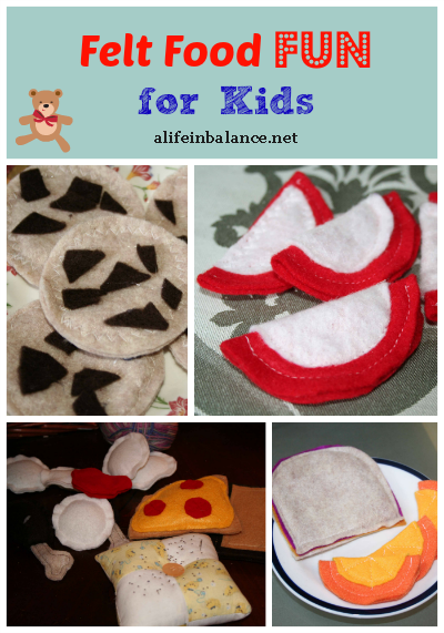 Felt Food for Kids Craft